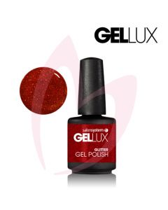 Profile Gellux UV/LED Red Hot Ruby (Glitter) 15ml