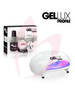 Salon System Gellux UV/LED Hard Gel Kit + LED Lamp
