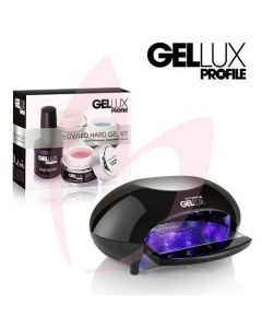 Salon System Gellux UV/LED Hard Gel Kit + Profile LED Express Lamp