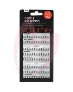 Salon System Individual Flare Lashes (Value Pack) - Medium