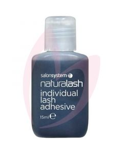 Salon System Individual Lash Adhesive - Black 15ml