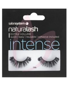 Salon System Naturalash Strip Lashes - 146 Black (INTENSE)