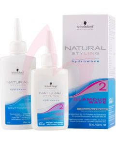 Schwarzkopf Natural Styling Glamour Wave No.2 Tinted / Coloured Hair