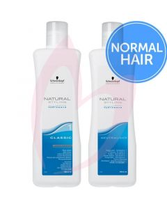 Schwarzkopf Natural Styling Hydrowave Perm Lotion & Neutraliser Pack ( Normal Hair ) 1000ml