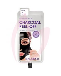 Skin Republic Charcoal Peel Off Face Mask 3 Uses