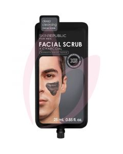 Skin Republic Men's Charcoal Facial Scrub