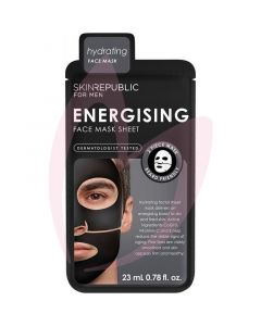 Skin Republic Men's Energising Face Mask Sheet