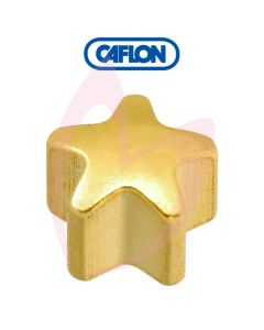 Caflon Gold Regular Star Shape Birth Stone Pk12