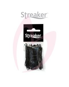 "Streaker 2"" Waved Grips - Black (50)"