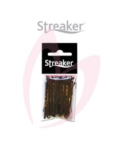 "Streaker 2"" Waved Grips - Brown (50)"