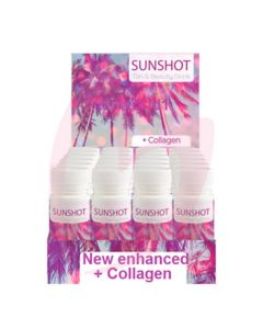 Sunshot +Collagen Tan & Beauty Drink 24 x 60ml (2019)