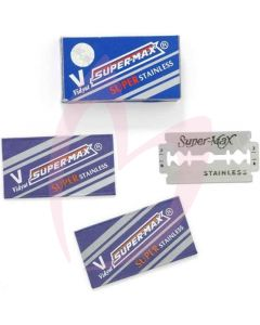 AMA Supermax Double Sided Blades x10 (For Focus Razor)