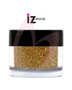 Textured Holographic Yellow Gold Glitter 6g (Gold Rush)