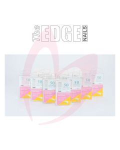 The Edge Nails COMPETITION NATURAL (50 Tips)