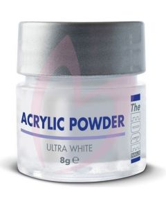 The Edge Acrylic Powder Ultra White 8g