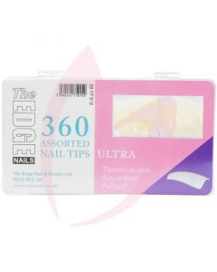 The Edge Nails ULTRA Nail Tips - (360 Assorted Pack)