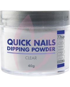 The Edge Quick Nails Dipping Powder 40g - Clear
