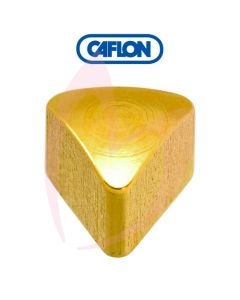 Caflon Gold Regular Triangle Shape Birth Stone Pk12