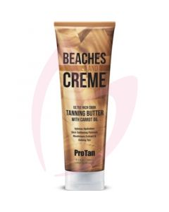 Pro Tan Beaches & Creme Ultra Rich Tanning Butter with Carrot Oil 250ml (2020)