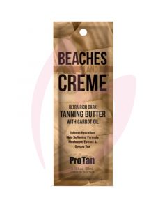 Pro Tan Beaches & Creme Ultra Rich Tanning Butter with Carrot Oil 22ml (2020)