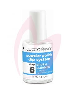 Cuccio Powder Polish Brush Cleaner 14ml (Step 6)