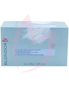 Wella Blondor Multi Blonde Lightening Powder Sachets 30g (Box 12)