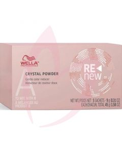 Wella Colour Renew Crystal Powder 5 X 9g Sachets