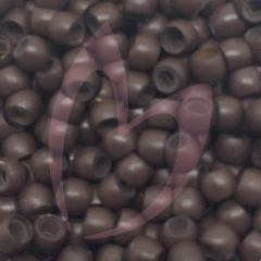 Silicone Lined Nano Beads x100 Brown