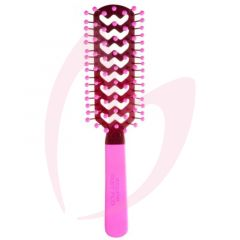 Cricket Static Free Tunnel Brush Pink (9 Row)