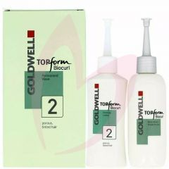 Goldwell Top Form Biocurl Set 2 - Tinted Hair