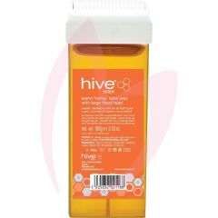 Hive Roller Wax with Large Fixed Head - Warm 'Honey' Wax 100g