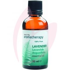 Natures Way Aromatherapy - 100 % Pure Lavender Essential Oil 50ml
