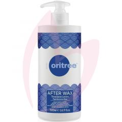ORITREE? Afterwax Lotion With Fig & Geranium Rose 500ml