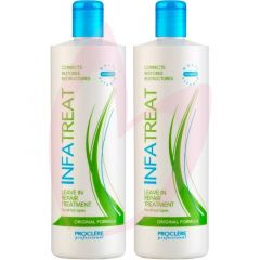 Proclere Infatreat Leave-In Treatment Original 500ml Twin Pack