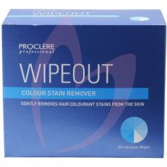 Proclere Wipeout - Stain Remover Wipes pk20