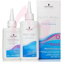 Schwarzkopf Natural Styling Glamour Wave No.0 Resistant Hair