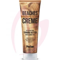 Pro Tan Beaches & Creme Ultra Rich Dark Tanning Butter with Carrot Oil 250ml (2021)