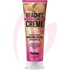 Pro Tan Beaches & Creme Ultra Rich Natural Bronzing Butter with Carrot Oil 250ml (2021)