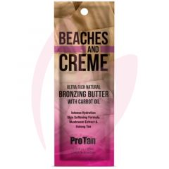 Pro Tan Beaches & Creme Ultra Rich Natural Bronzing Butter with Carrot Oil 22ml (2021)