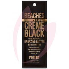Pro Tan Beaches & Creme Ultra Rich Black Bronzing Butter with Carrot Oil 22ml (2021)