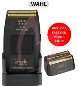 Wahl 5 Star Finale Shaver (With Free Foil)