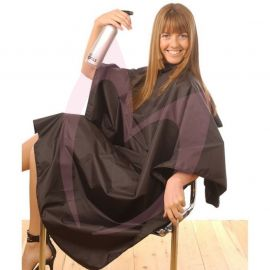 Hair Tools Black Tint Proof Gown