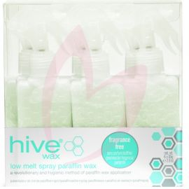 Hive Options Spray Fragrance-Free Low Melt Paraffin Cartridges 80g (x6)