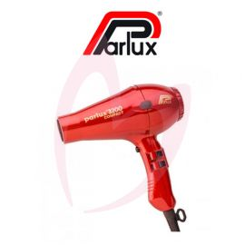 Parlux Compact 3200 Hairdryer - Raunchy Red