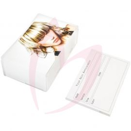 Blonde Appointment Cards (Hair)