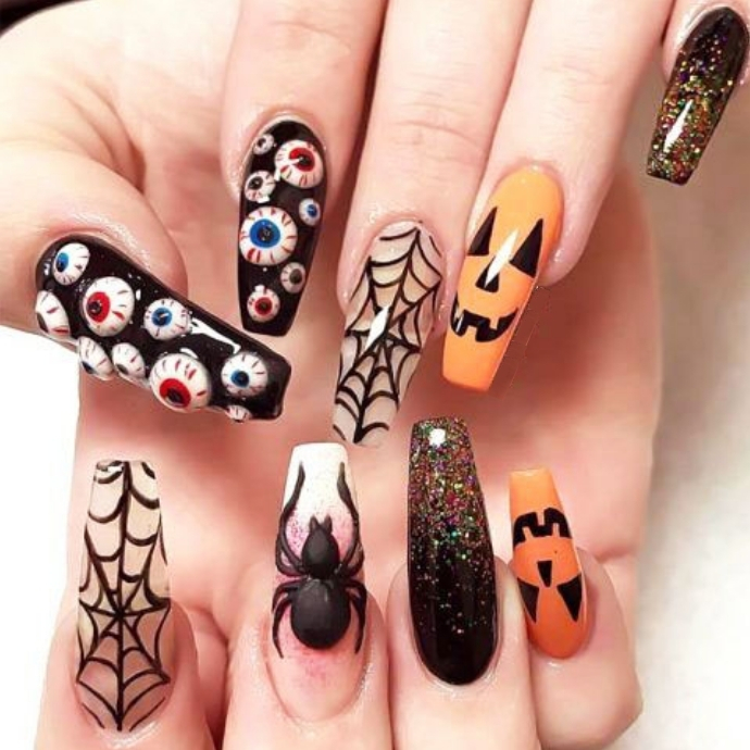 Our Favourite Halloween Nail Art Designs